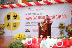 Project improves first aid response capacity at schools
