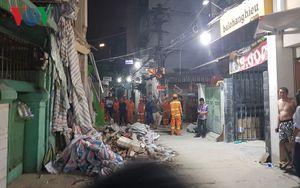 Điều tra vụ sập nhà đang sửa khiến một người chết tại TP HCM