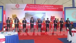 Japanese-invested plant inaugurated in Ha Nam
