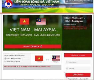 Cách mua vé online xem trận bán kết giữa Việt Nam và Philippines tại Mỹ Đình