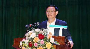 Phó Thủ tướng Vương Đình Huệ tiếp xúc cử tri ở Hương Khê