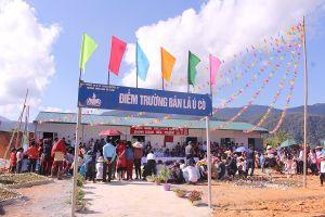 Khánh thành điểm trường ở xã vùng biên Ka Lăng