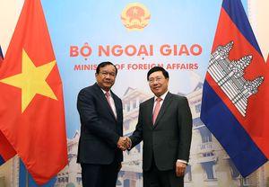 Việt Nam, Campuchia ưu tiên cao cho các hoạt động song phương quan trọng