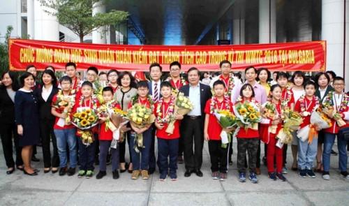 Học sinh Việt Nam giành 9 HCV, tiếp tục thắng lớn tại kì thi vô địch các đội tuyển Toán thế giới