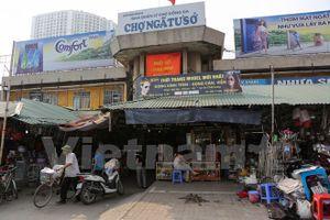 Dự án Trung tâm thương mại, chợ Ngã Tư Sở bị khai tử
