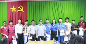 Đoàn Thanh niên Tập đoàn chia sẻ với thanh niên, công nhân có hoàn cảnh khó khăn của PVDrilling và PVC