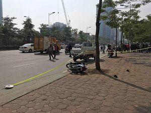 Người đàn ông tử vong sau va chạm với xe cứu hỏa ở Hà Nội
