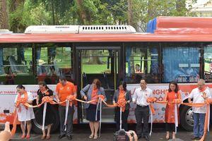 TP. Hồ Chí Minh ra quân hành trình xe buýt màu cam an toàn hưởng ứng bình đẳng giới