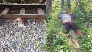 Đi trên đường ray, người phụ nữ bị tàu cán chết ở Vĩnh Phúc