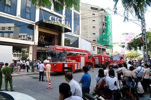 Cháy khách sạn 4 sao ở Nha Trang