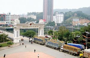 Lào Cai: Kim ngạch xuất nhập khẩu qua cửa khẩu tăng mạnh