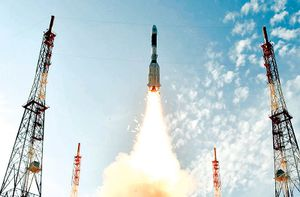Ấn Độ phóng vệ tinh quan sát Trái đất