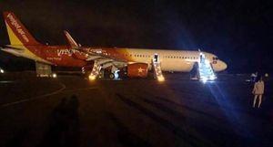 Máy bay Vietjet gặp sự cố, 207 hành khách đã thoát hiểm an toàn