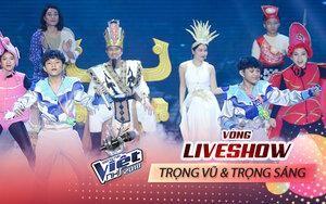 Liveshow 3: Trọng Vũ - Trọng Sáng 'kẻ tám lạng người nửa cân' nhập vai Thủy Tinh