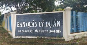 Bà Rịa – Vũng Tàu: Dự án khu dân cư số 1 Tây Nam được tái sinh sau 14 năm 'trì trệ'