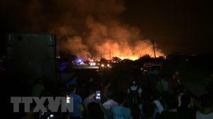 Khu nhà trọ bốc cháy giữa đêm, một nữ công nhân thiệt mạng