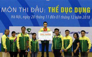 Đại hội Thể thao toàn quốc lần VIII: Thể dục dụng cụ TP.HCM bứt phá ở ngày cuối cùng