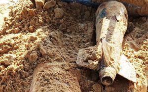 Phát hiện 2 quả bom nặng hơn 500kg tại Ninh Thuận