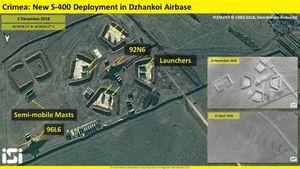 Cận cảnh vị trí chính xác Nga triển khai S-400 ở Crimea