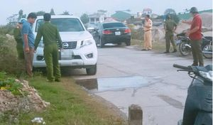 Tình tiết mới nhất vụ thượng úy công an tử vong trong xe ô tô