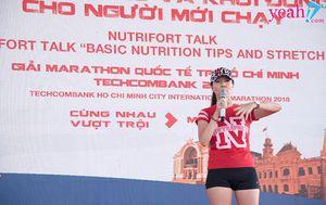 Giải Marathon Quốc Tế Thành Phố Hồ Chí Minh Techcombank 2018: Chuyên gia dinh dưỡng chia sẻ bí quyết chạy đường dài