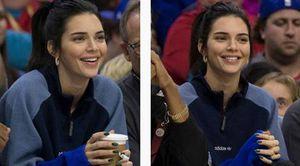Kendall Jenner vẫn đến cổ vũ bạn trai chơi bóng rổ dù bị ký đơn cấm