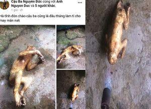 Thanh niên đưa ảnh giết khỉ lên facebook khai gì tại cơ quan công an?