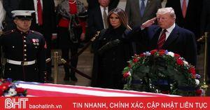 Nước Mỹ tưởng nhớ cố Tổng thống George H.W. Bush