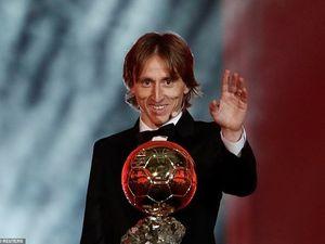 Khoảnh khắc Luka Modric phá vỡ thế thống trị của Ronaldo - Messi
