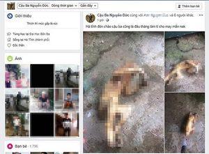 Hà Tĩnh: Triệu tập đối tượng tải hình ảnh giết động vật hoang dã đưa lên mạng xã hội