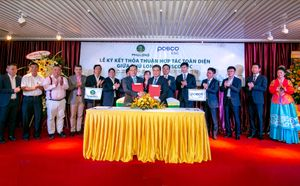 Công ty Phú Long và Tập đoàn Posco E&C ký kết hợp tác toàn diện