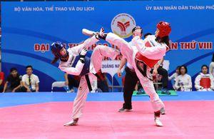 Taekwondo TP Hồ Chí Minh chiếm ưu thế tại Đại hội Thể thao toàn quốc
