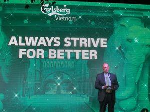 Hãng bia Carlsberg khẳng định nỗ lực theo đuổi sự hoàn hảo