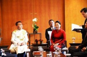 Chủ tịch Quốc hội Nguyễn Thị Kim Ngân gặp mặt nhân sĩ hữu nghị Việt Nam - Hàn Quốc