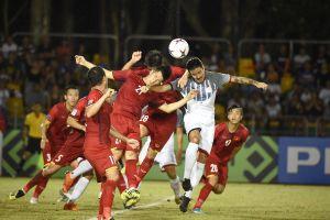 Lộ diện trọng tài bắt chính trận bán kết Việt Nam- Philippines