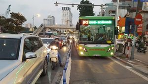 Hà Nội sẽ tổ chức lại tuyến xe buýt nhanh (BRT) 01 như thế nào?