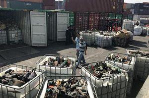 20 container rác thải công nghiệp 'thẩm lậu' vào cảng Cát Lái