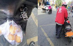 Còn mỗi 100k mua bánh mỳ cho khách, bác tài xế già bị 'bỏ bom' và hành động đáng suy ngẫm của nam thanh niên
