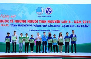 Thanh niên TP Hồ Chí Minh tình nguyện vì thành phố văn minh, sạch đẹp, an toàn