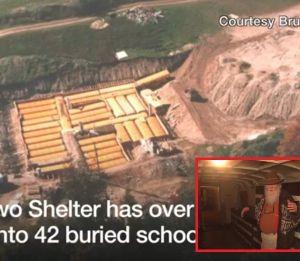 Cụ ông 83 tuổi 50 năm xây dựng hầm trú ẩn hạt nhân từ 42 chiếc xe buýt