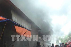 Vụ cháy gần khu vực chợ Vinh, Nghệ An: Bắt đầu khám nghiệm hiện trường