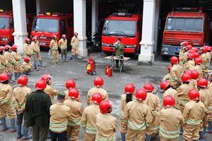 Tập huấn công tác phòng cháy chữa cháy & cứu nạn cứu hộ cho đối tượng 5