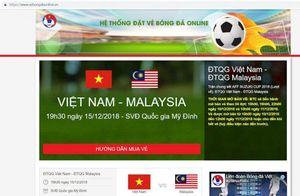 Sự thật về website 'vebongonline.com.vn' bán vé bóng đá online giả mạo