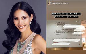 Sợ phải nói 'giá như', Hoàng Thùy rục rịch chuẩn bị cho Miss Universe 2019
