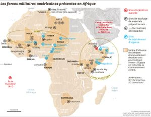 Mỹ gia tăng sức mạnh quân sự ở châu Phi