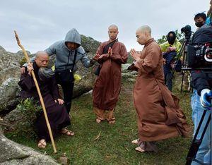 Bấm máy khởi quay bộ phim truyền hình 'Phật hoàng Trần Nhân Tông'