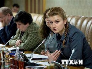 Nga bác bỏ mọi cáo buộc nhắm vào 'điệp viên' Maria Butina