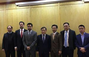 Đoàn doanh nhân Dubai FDI xúc tiến đầu tư vào Việt Nam