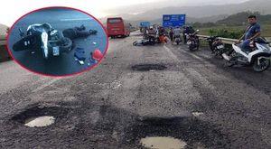 'Sập bẫy' ổ gà, 2 người thương vong: Chủ tịch huyện ở Phú Yên nói gì?