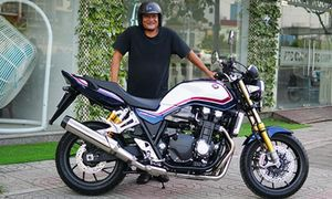 'Soi' Honda CB1300 mới giá gần 500 triệu tại Sài Gòn